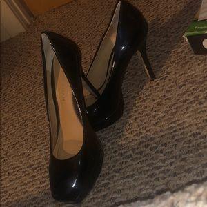 Dark navy Antonio Melani heels
